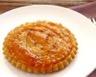 Tartelettes renversées aux pêches miel et amaretti