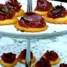 Tartelettes rhubarbe magret de canard fumé