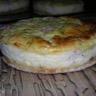 Tartelettes soufflées au jambon et au fromage