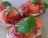 Tartine de Jambon cru et melon