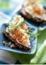 Tartines au tartare de saumon