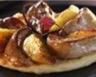 Tatin de foie gras chaud et pommes au miel