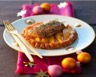 Tatins de mangue et foie gras