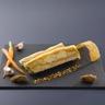 Terrine arlequin de foie gras à l'ail