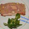 Terrine de canard au foie gras noisettes et pistaches