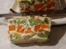 Terrine de légumes (carotte courgette brocoli)