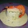 Terrine de poisson et noix de Saint-Jacques aux herbes