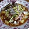 Tinga Poblana ragoût de porc aux piments fumés à la mode de Puebla