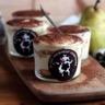Tiramisu à la Crémeuh Dessert Vanille Les 2 Vaches et aux poires à la cannelle