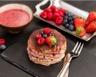 Tiramisu aux biscuits roses et fruits rouges