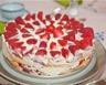 Tiramisu aux fraises et biscuits roses saveur rhum