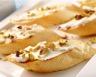 Toasts au fromage frais et aux pistaches