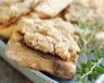 Toasts aux rillettes de poulet et herbes de Provence