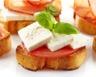 Toasts tomates/chèvre
