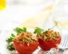 Tomate farcie à la viande hachée chapelure aux herbes