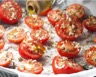 Tomates cerise confites à l'huile d'olive ail et thym