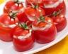 Tomates cerise farcies au chèvre