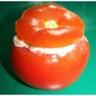 Tomates farcies à la macédoine de légumes