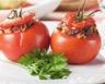 Tomates farcies au boeuf et ses légumes croquants