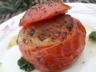 Tomates farcies au riz et au thon