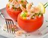 Tomates farcies au riz et aux crevettes