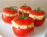 Tomates farcies au thon & œuf dur