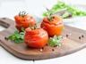 Tomates farcies aux courgettes et gruyère