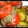 Tomates farcies aux courgettes vapeur