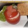 Tomates farcies concombre saumon fumé aneth