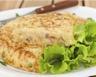 Tortilla aux pommes de terre facile petits pois et feta
