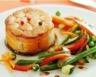 Tournedos de surimi poêlé et ses légumes fondants