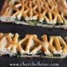 Tourte aux épinards et crème au fromage