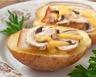 Tourte montagnarde aux champignons lardons et pommes de terre