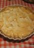 Traditionnelle tarte meringuée au citron