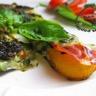 Tranches de courgettes grillées au jambon cru mozzarella et pesto