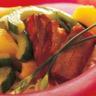 Travers de porc caramélisés au Concombre de France
