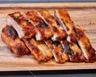 Travers de porc caramélisés ou ribs