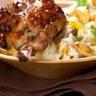 Travers de porc grillé au carvi riz aux noix de cajou