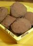Truffes au chocolat noir à 70 % de cacao