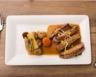 Veau aux pommes de terre carottes et navets