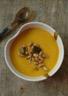 Velouté aux panais et aux carottes rôtis