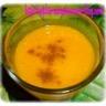 Velouté coco carottes et lentilles corail