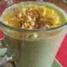 Velouté d'asperges sabayon citron curry