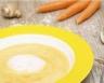 Velouté de carottes à la crème fraîche allégée