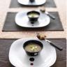 Veloute de châtaignes au foie gras
