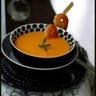 Velouté de courge musquée au lait de coco citronnelle et gingembre