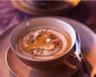 Velouté de topinambour aux poivrades grillés et au miel