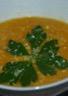 Velouté potiron/carotte au lait de coco et 4 épices
