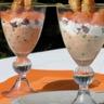Verrine aux deux saumons saint-jacques et fromage de chèvre frais