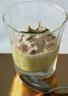 Verrine crème d'asperges au thon